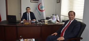 Başkan Toltar'dan Yaman'a geçmiş olsun ziyareti