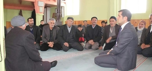 Başkan Vekili Erat'tan köy ziyareti