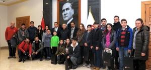 Sivas Sportif Havacılık Kulübü üyeleri Vali Çelik'i ziyaret etti