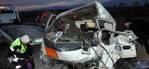 Kazada ağır yaralanan sürücü hayata tutunamadı