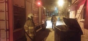 Bandırma'da metruk evde yangın