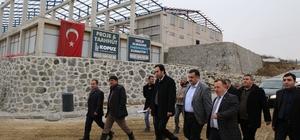 Rize Organize Sanayi Bölgesi'nde fabrika inşaatları devam ediyor