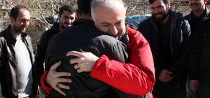 Türk Kızılayı Genel Başkanı Kınık Hatay'da