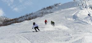 Ovacık'ın kayak tesisi yeni cazibe merkezi oldu
