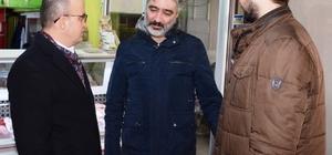 Turan Lapseki'de taziye ziyaretinde bulundu