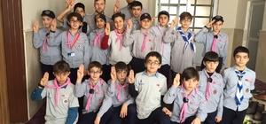 Sorgunlu izciler Sivas'ta kış kampına girdi