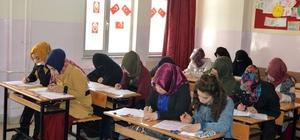 Gaziantep'te umre ödüllü Siyer sınavına 8 bin kişi katıldı