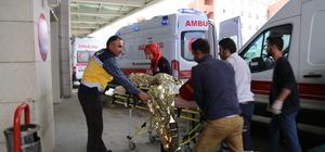 Tüfek kazayla ateş aldı: 2 kardeş yaralı