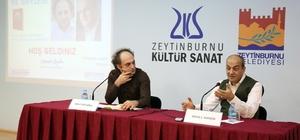 """""""100 Yüze İmza ve Söyleşi"""" programı Zeytinburnu'nda devam ediyor"""