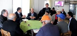 Başkan Turgut'tan esnaf ziyaretleri