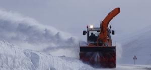 Kars'ta 50 köy yolu ulaşıma kapalı