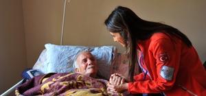 Seferihisar'da hasta ve engellilere evde bakım ve sosyal destek hizmeti