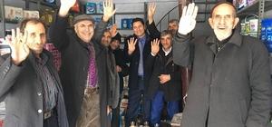 AK Parti Özalp İlçe Başkanlığı sahaya indi