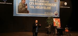 Tayfun Talipoğlu, Büyükçekmece'de yol hikayelerini anlattı