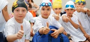 Şehitkamil'de yüzücüler küçük, geleceğe yatırım büyük