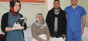 Cizre'de ilk defa kameralı dış gebelik ameliyatı yapıldı