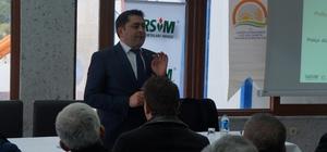 Lapseki'de tarım sigortası bilgilendirme toplantısı