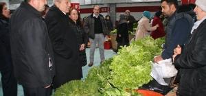 Devrek Belediyesinden pazarcılar için örnek uygulama