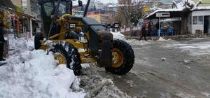 Kulp'ta kar temizleme seferberliği