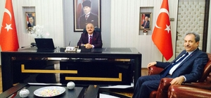 Başkan Akkaya'dan Kaymakam Türk'e ziyaret