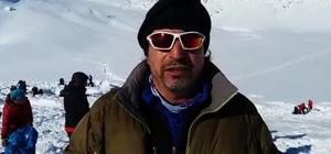 Çığ tehlikesi dağcıların zirve yapmasını engelledi