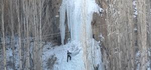 """Vali Azizoğlu, """"Buza tırmanmak heyecan vericiydi"""""""