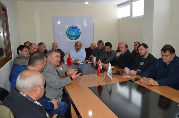 FADEF'ten Fatsa'da ilk toplantı