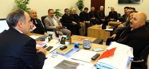 Muhtarlardan Genel Sekreter Yaşar'a ziyaret