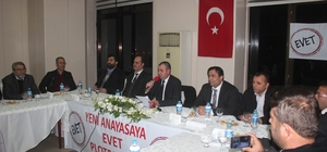 İzmir'de STK'lardan 'Evet Platformu'