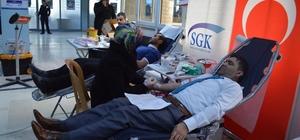 SGK'dan kan bağışı kampanyasına destek