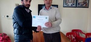 Dargeçit'te girişimcilik belgesi dağıtıldı
