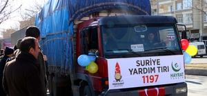 Kahramanmaraş'tan Suriye'deki ihtiyaç sahiplerine yardım