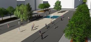 Büyükşehir Demre'nin cadde ve meydanını yeniliyor