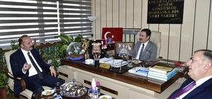 Akgül'den AHİD'in yeni yönetimine hayırlı olsun ziyareti