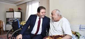 Başkan Kılıç, yaşlı çiftin derdine derman oldu