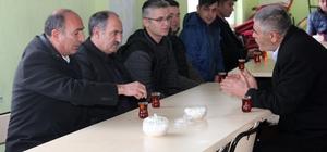 Genel Sekreter Yaşar'dan avcıların ailelerine taziye ziyareti