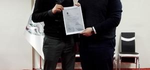 Alpu AK Parti Gençlik Kolları Başkanlığı'na Yasin Sarı getirildi