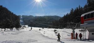 Yıldıztepe Kayak Merkezi En Yoğun Sezonunu Yaşıyor