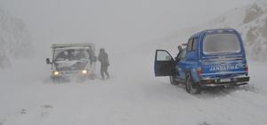 Adıyaman-Malatya karayolu trafiğe kapandı