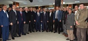 Vali Demirtaş, Ceyhan'da muhtarlar ve STK temsilcileri ile bir araya geldi