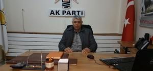 """Samsat AK Parti İlçe Başkanı Erdem: """"Samsat tarihinde görülmemiş oranda yatırım aldı"""""""
