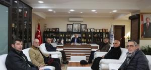 Tozlu Camii Vakfı'ndan Başkan Dişli'ye ziyaret