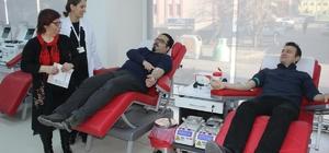 Kızılay Kan Bağış Merkezi yenilenen yerinde bağışçılarını bekliyor