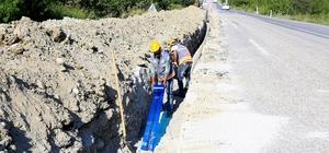 Honaz'ın 4 mahallesinin içme suyu çalışması bitti