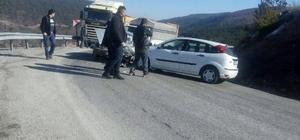 Tavşanlı-Emet Karayolu'nda trafik kazası: 2 yaralı