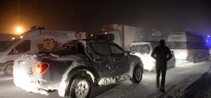 Bitlis'te ulaşıma kar engeli