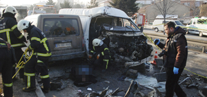 Kütahya'da zincirleme trafik kazası: 1 ölü, 1 yaralı