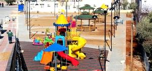 Silifke'de Mukaddem Mahallesi'ne park yapılıyor