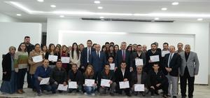 Girişimcilik Kursunu tamamlayan 73 kişiye sertifika