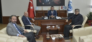 Başkan Çalışkan'dan, Rektör Akgül'e hayırlı olsun ziyareti